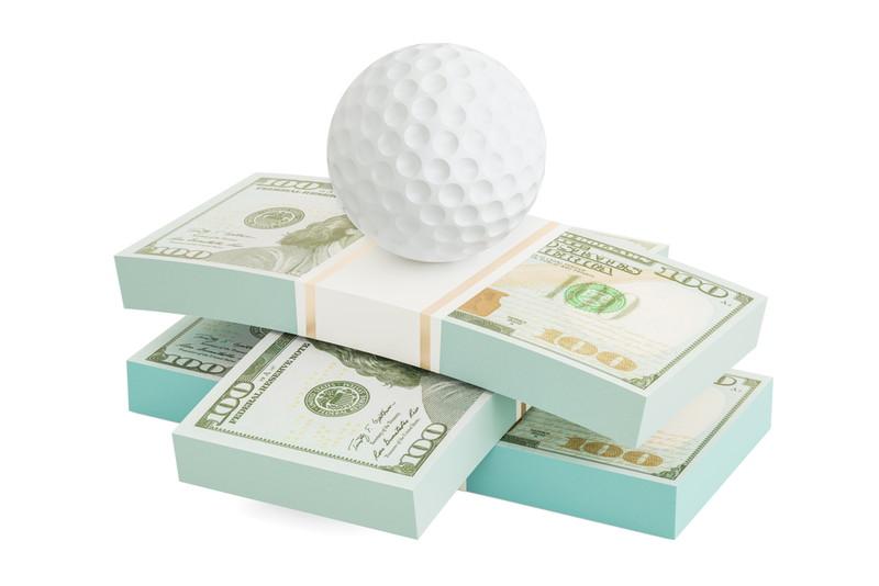 ゴルフ お金